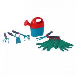 Rappa Sada dětského zahradního nářadí s rukavicemi, 6 ks