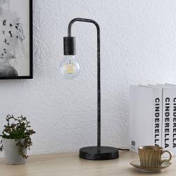 Lindby Lindby Brooke vintage stolní lampa, antická rezavá
