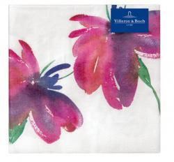 Villeroy & Boch Artesano Flower Art  ubrousky s květinami, 33 x 33 cm