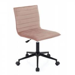 Hector Kancelářská židle Franz růžová