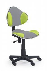 Halmar Kancelářská židle Light šedo-zelená