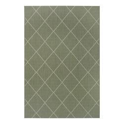 Zelený venkovní koberec Ragami London, 160 x 230 cm