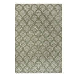 Zelený venkovní koberec Ragami Moscow, 120 x 170 cm