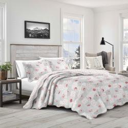 Přehoz na postel Patchwork Idea, 230 x 250 cm, 2 ks 50 x 70 cm, 230 x 250 cm