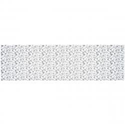 Běhoun Zara bílá, 40 x 140 cm