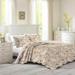 Přehoz na postel Eva, 230 x 250 cm, 2 ks 50 x 70 cm, 230 x 250 cm