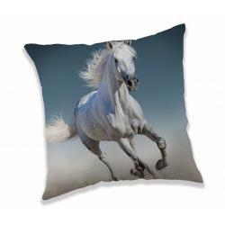 Jerry Fabrics Polštářek White horse, 40 x 40 cm