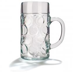 Pivní sklenice s uchem ISAR, 1 l