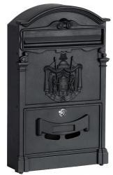 TZB Poštovní schránka Amund černá