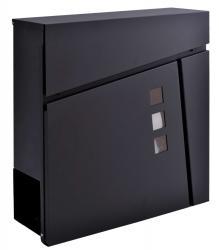 TZB Poštovní schránka Johan černá