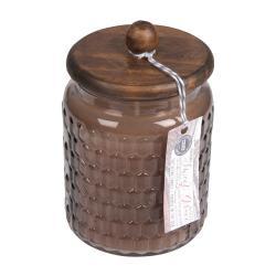 Vonná svíčka ve skle s dřevěným poklopem Bridgewater candle Company Sweet Grace, doba hoření 110 hodin