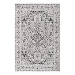 Černo-béžový venkovní koberec Ragami Vienna, 120 x 170 cm