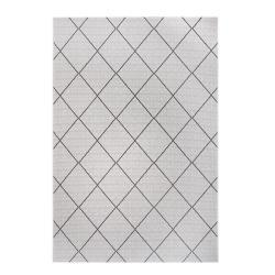 Černo-šedý venkovní koberec Ragami London, 80 x 150 cm
