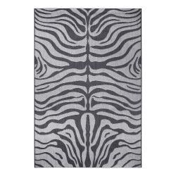 Šedý venkovní koberec Ragami Safari, 160 x 230 cm