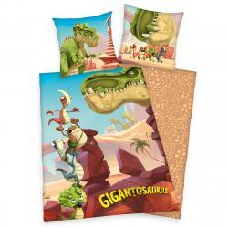 Herding Dětské bavlněné povlečení Gigantosaurus, 140 x 200 cm, 70 x 90 cm