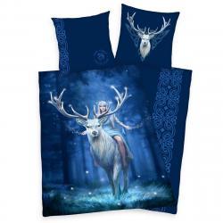 Herding Bavlněné povlečení Anne Stokes Deer, 140 x 200 cm, 70 x 90 cm