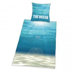 Herding Bavlněné povlečení The Ocean, 140 x 200 cm, 70 x 90 cm