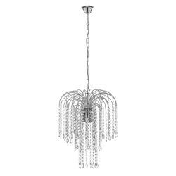ONLI Pioggia závěsné světlo s křišťály Ø40cm chrom