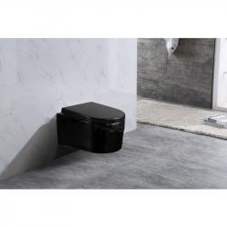 Závěsná WC mísa Mexen Sofia Rimless černá