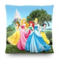AG Art Polštářek Princess Disney, 40 x 40 cm
