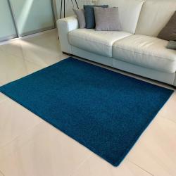 Vopi Kusový koberec Eton lux tyrkysová, 120 x 160 cm