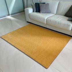 Vopi Kusový koberec Eton lux žlutá, 120 x 170 cm