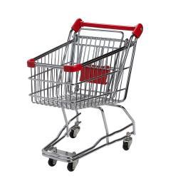 SUPERMARKET Nákupní vozík velký - červená