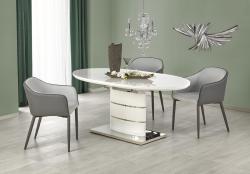 Halmar Jídelní stůl ASPEN, bílý