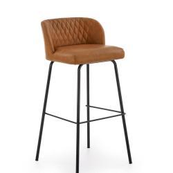 Halmar Barová židle H-92, světle hnědá