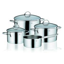 4dílná sada nádobí z nerezové oceli se 3 pokličkami Kela Cailin