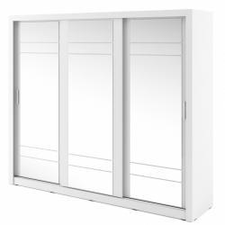 Hector Šatní skříň Arti 250 cm bílá