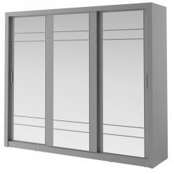 Hector Šatní skříň Arti 250 cm šedá
