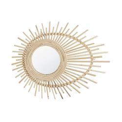 SUNNA Oválné zrcadlo 50 x 40 cm