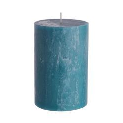 RUSTIC Svíčka 15 cm - modrá