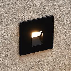 Arcchio Arcchio Vexi LED podhledové světlo, hranaté, černé