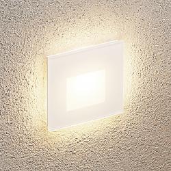 Arcchio Arcchio Vexi LED podhledové světlo, hranaté bílé