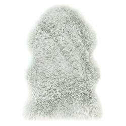 AmeliaHome Kožešina Dokka šedá, šedá, 50 x 80 cm