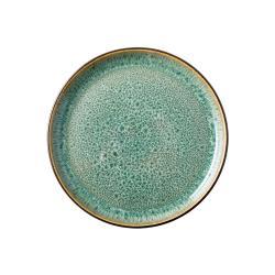 Zelený kameninový talíř Bitz Mensa,ø17cm