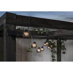 Venkovní světelný LED řetěz Star Trading Smoky, 10 světýlek