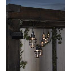 Venkovní světelný LED řetěz Star Trading Cage, 8 světýlek