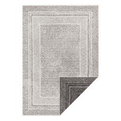 Černo-bílý venkovní koberec Ragami Berlin, 120 x 170 cm
