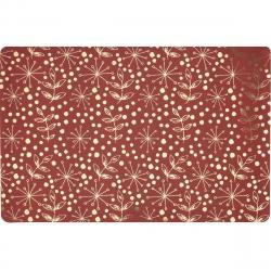 Prostírání pro zvířata červená, 28 x 43 cm