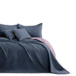 AmeliaHome Přehoz na postel Softa charcoal - mauve, 220 x 240 cm