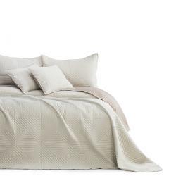 AmeliaHome Přehoz na postel Softa beige - cappucino, 220 x 240 cm