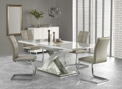 Halmar Rozkládací jídelní stůl Dora šedý