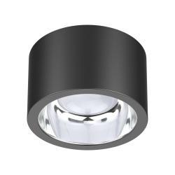 EVN LED stropní spot ALG54, Ø 21,3 cm antracit