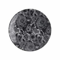 BLOSSOM Talíř 26,5 cm - černá