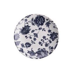 BLOSSOM Snídaňový talíř 21,5 cm - tm. modrá