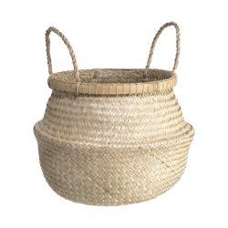 BALI Koš z mořské řasy s bambusovou obručí vel.L