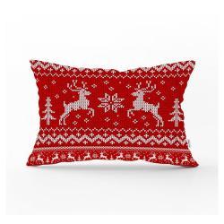 Vánoční povlak na polštář Minimalist Cushion Covers Dasher,35x55cm
